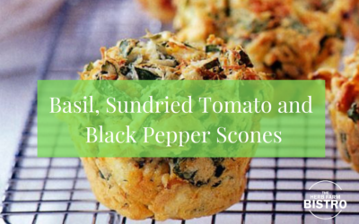 Let's Bake… Basil, Sundried Tomato and Black Pepper Scones
