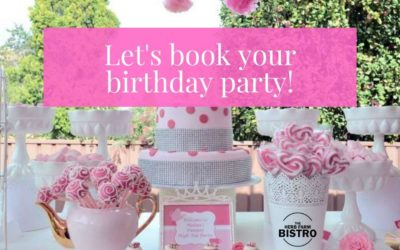 Let's book your Birthday Party! 🌺