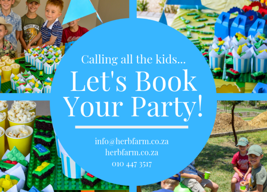Let's host your kids party! 🎈