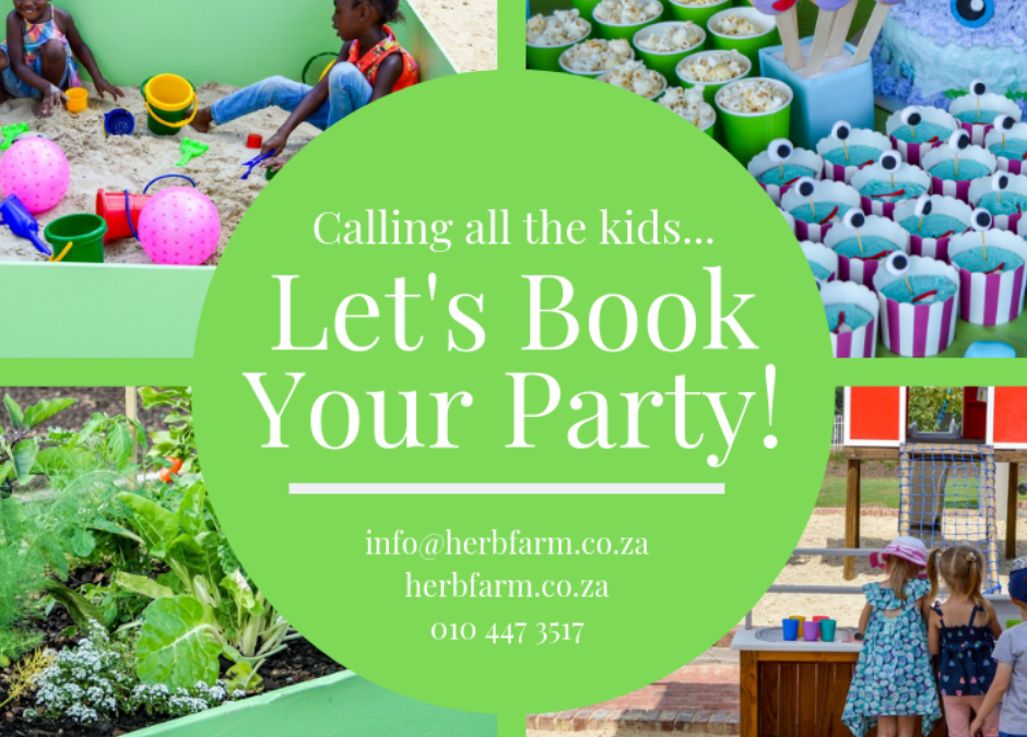 Let's book your birthday party! 🎈