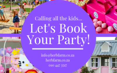 Let's book your Kids party! 🎈
