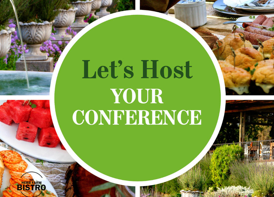 Let's host your Conference! 🌿