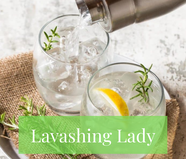 Let's Drink… Lavishing Lady Gin Cocktail 🌿