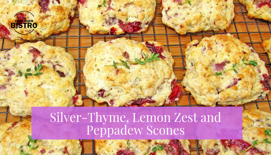 Let's Bake… Silver-Thyme, Lemon Zest and Peppadew Scones