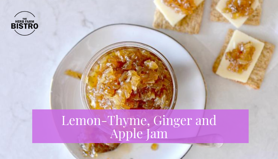 Let's Make… Lemon-Thyme, Ginger and Apple Jam