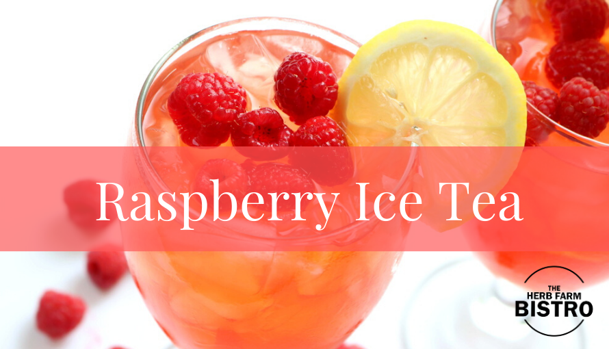 Let's drink…Raspberry & Basil Ice Tea